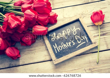 Happy Mother`s day background/toned photo #626768726