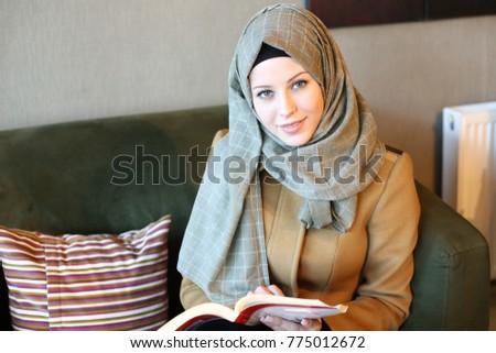 Happy Muslim Women #775012672