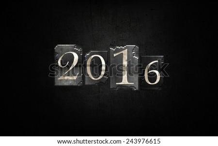 Happy new Year! 2016 #243976615