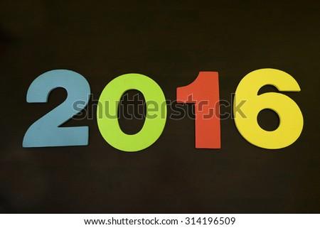 happy new year 2016  #314196509