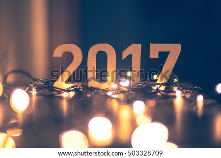 Happy new year 2017  #503328709