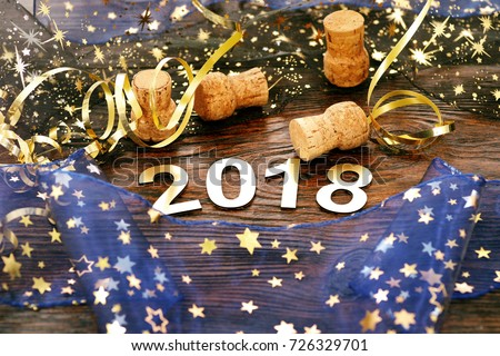 Happy New Year 2018 #726329701