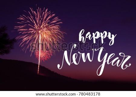 Happy new year 2018 #780483178