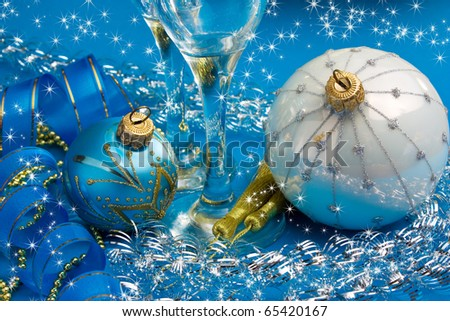 Happy New Year and Merry Christmas #65420167