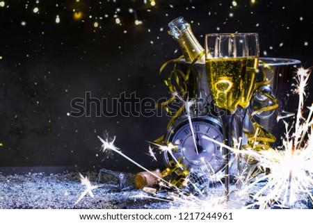 Happy New Year 2019 background #1217244961