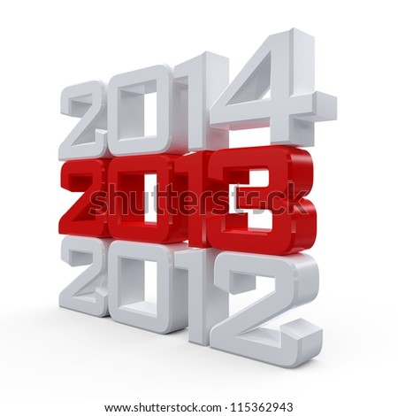 Happy New Year 2013 Calendar Background...