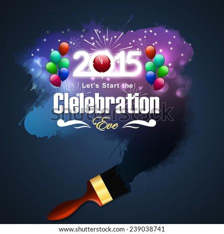 Happy New Year 2015 celebration concept #239038741
