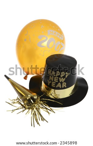 Happy New Year Party Favors