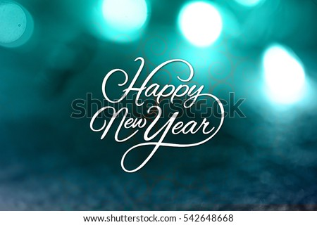 Happy New Year. Vector illustration, 2017,Happy New Year background #542648668