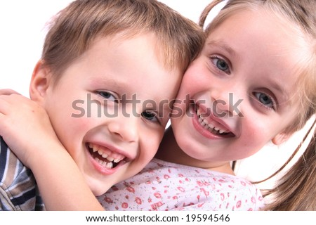 stock photo : happy pair