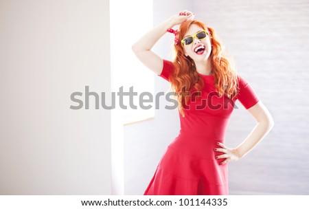 Happy portrait