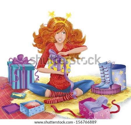 Картинки с днем рождения для рыжих