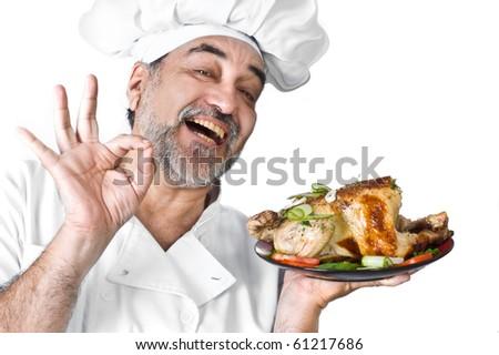 happy  smiling chef