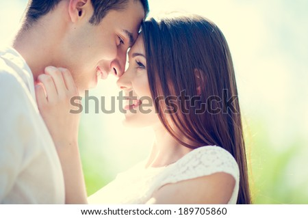 Photo of Happy Smiling Couple in love