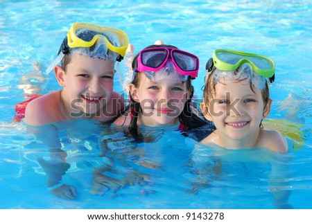 ShutterStock happy swimmers 9143278