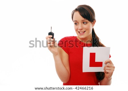 stock photo happy teenager looking at car key after passing driving test 42466216 Anna R. Welsh solicited sex from three underage teen boys