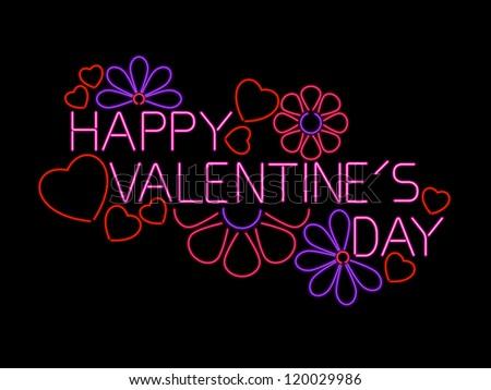 Happy Valentine's Day Sign - raster