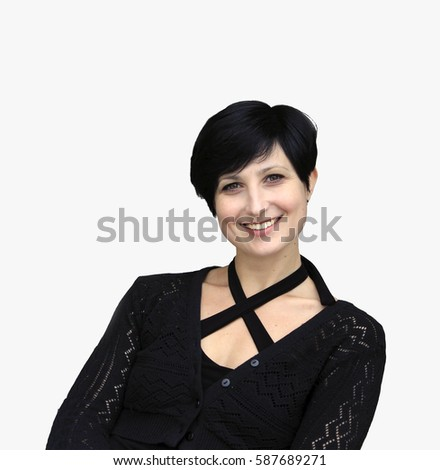 """happy woman isolated on white happy woman happy woman happy woman """"happy woman"""" """"happy woman"""" """"happy woman"""" """"happy woman"""" """"woman happy"""" """"woman happy"""" smiley smiley smiley smiley smiley"""" smiley""""  #587689271"""