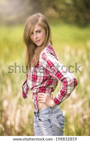 Country western girl