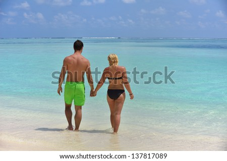 Royalty Free Two Gay Men Standing At The Beach 22187971