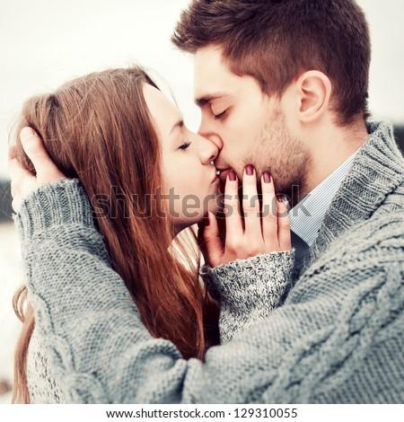 free photos portrait of the lovely couple kiss avopix com