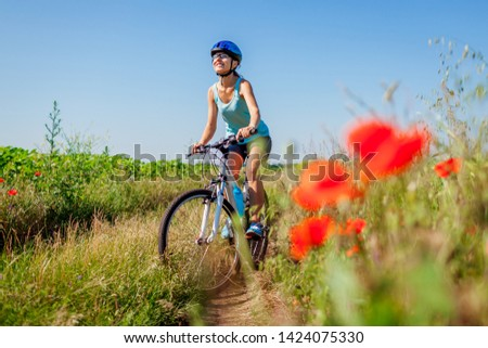 Young Woman Riding Bike Images And Stock Photos Page 26