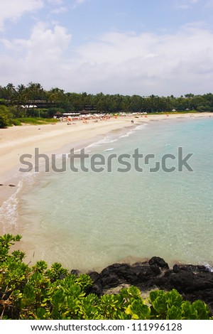 Hapuna Beach State Park, Big Island, Hawaii - stock photo