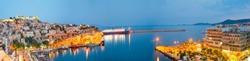 harbor in Kavala greece