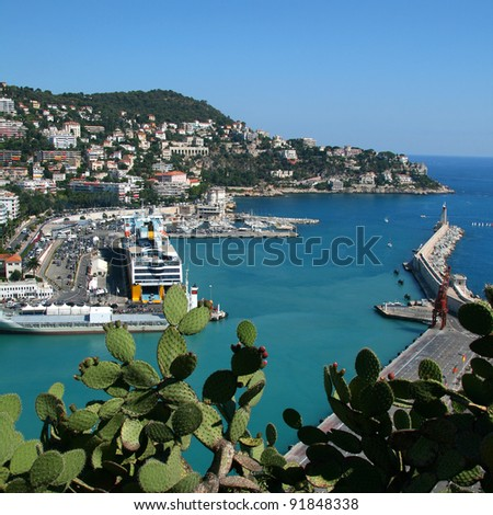 Harbor in Nice, France