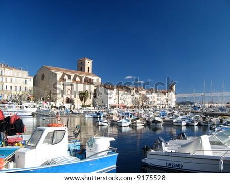 Harbor of La Ciotat, France