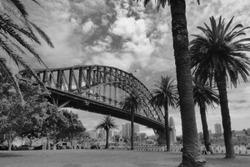 Harbour Bridge in Sidney Australia