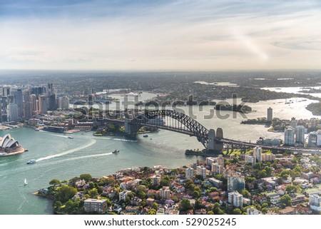 harbour bridge view from...