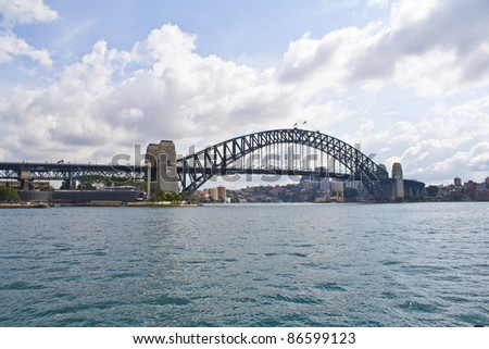 Harbour Bridge, view from Opera House