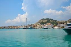 Harbour,  Zakynthos,Town, Zante, Ionian, Islands, Greece,