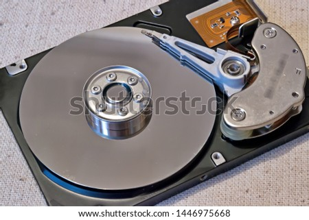 Hard disk recording data computer engineering #1446975668