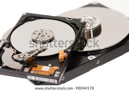 Hard disks - stock photo