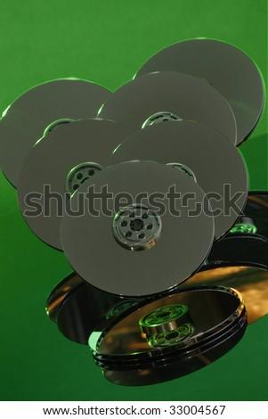 Hard drive patters