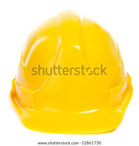 Hard Hat. Isoalted on white.