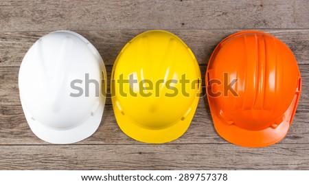 Hard hat, isolated on white background