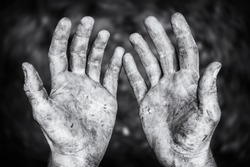Hard-working hands