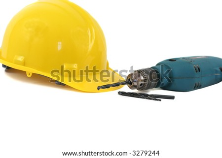 Hardhat and Drill