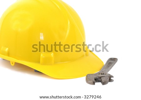 Hardhat And Monkey Wrench