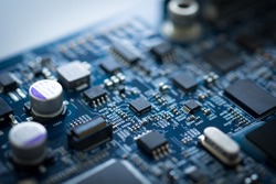Hardware motherboard technology. Electronics devices