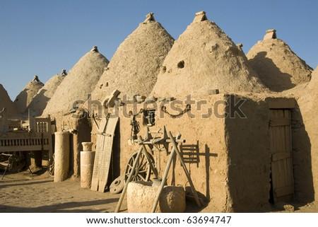 Harran, traditional houses - Anatolia Turkey