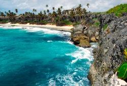 Harrismith Bay,  St Philips Parish, Barbados, West Indies