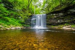 Harrison Wright Falls, at Ricketts Glen State Park, Pennsylvania.