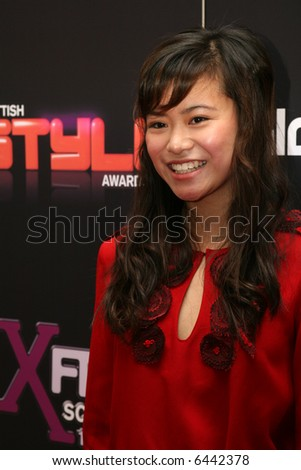 Harry Potter star, Katie Leung. At the Scottish Style Awards.