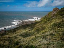 Hartland Point, North Devon, England. Landscape.
