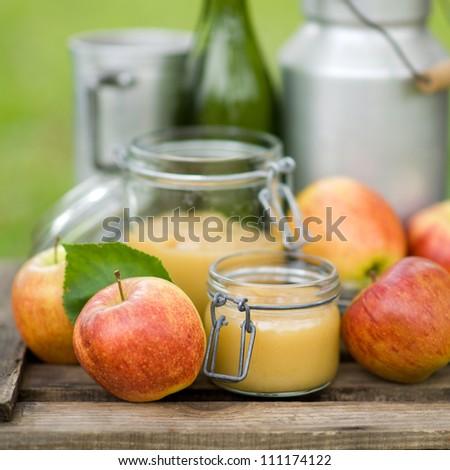 Harvest time, apple sauce