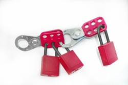 Hasp for prevention of unintended switching